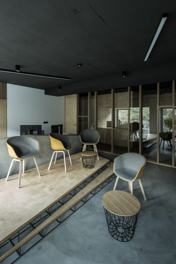 A smart three-storey house